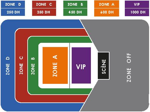 Ticket maroc maitre gims en concert salle couverte for Complexe mohamed 5 piscine
