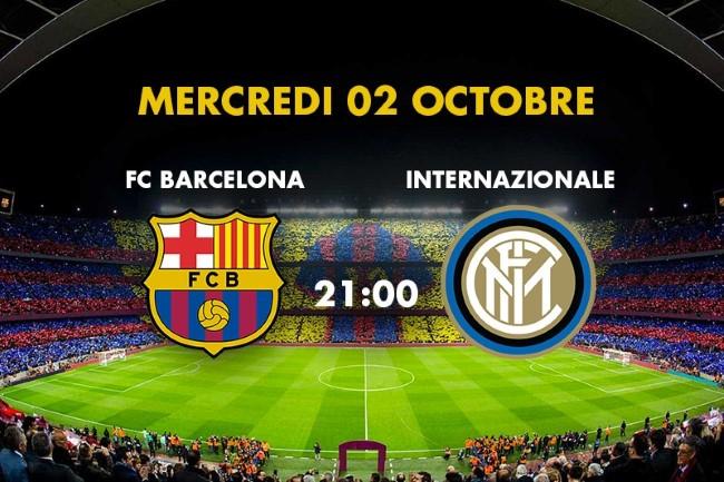 Inter Milan Calendrier.Fc Barcelona Vs Fc Inter Milan Uefa Champions League 19 20